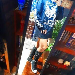 ▪🖤▪Rare Punk Goth Style Studded Converse!!